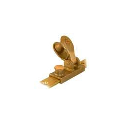 SUPPORT/HAMPE PAVILLON+TAQUET+BOUTON BRONZE