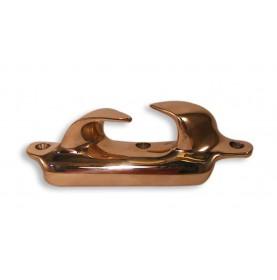 Chaumard croisé à rebord en bronze