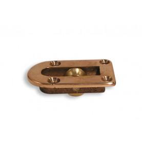 Poulie à plat pont simple en bronze