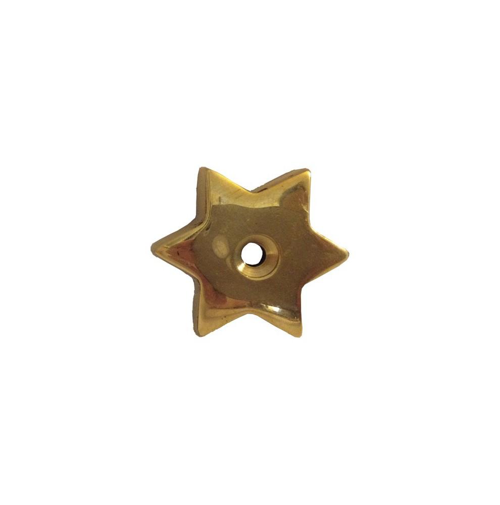 Brass Flat Star