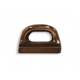 Coulisseau de mat en bronze pour rail en creux