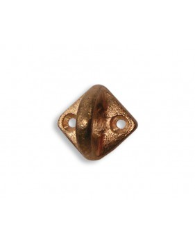 Pontet sur platine losange en bronze