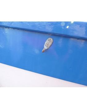 Crochet de taud déporté en laiton