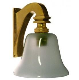 LAMPE TULIPE LAITON SANS INTERRUPTEUR