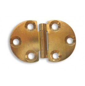 CHARNIERE RONDE 47 X 30 MM