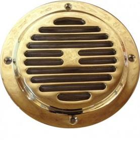 Grille de ventilation moteur laiton fondu diamètre 160mm