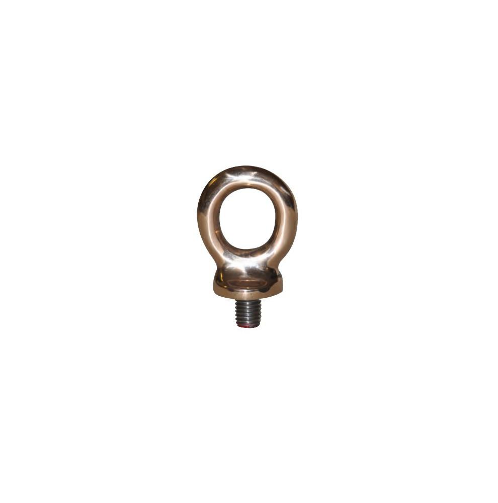Piton à œil amovible en bronze