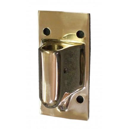 Base en applique pour chandelier en bronze