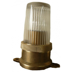 LAMPE DE COURSIVE ETANCHE LAITON POLI