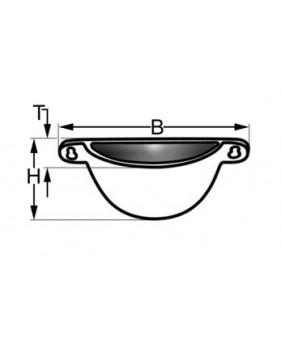 côtes récupérateur de condensation en bronze