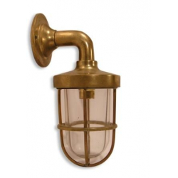 LAMPE APPLIQUE DE CABINE AVEC INTERRUPTEUR EN LAITON