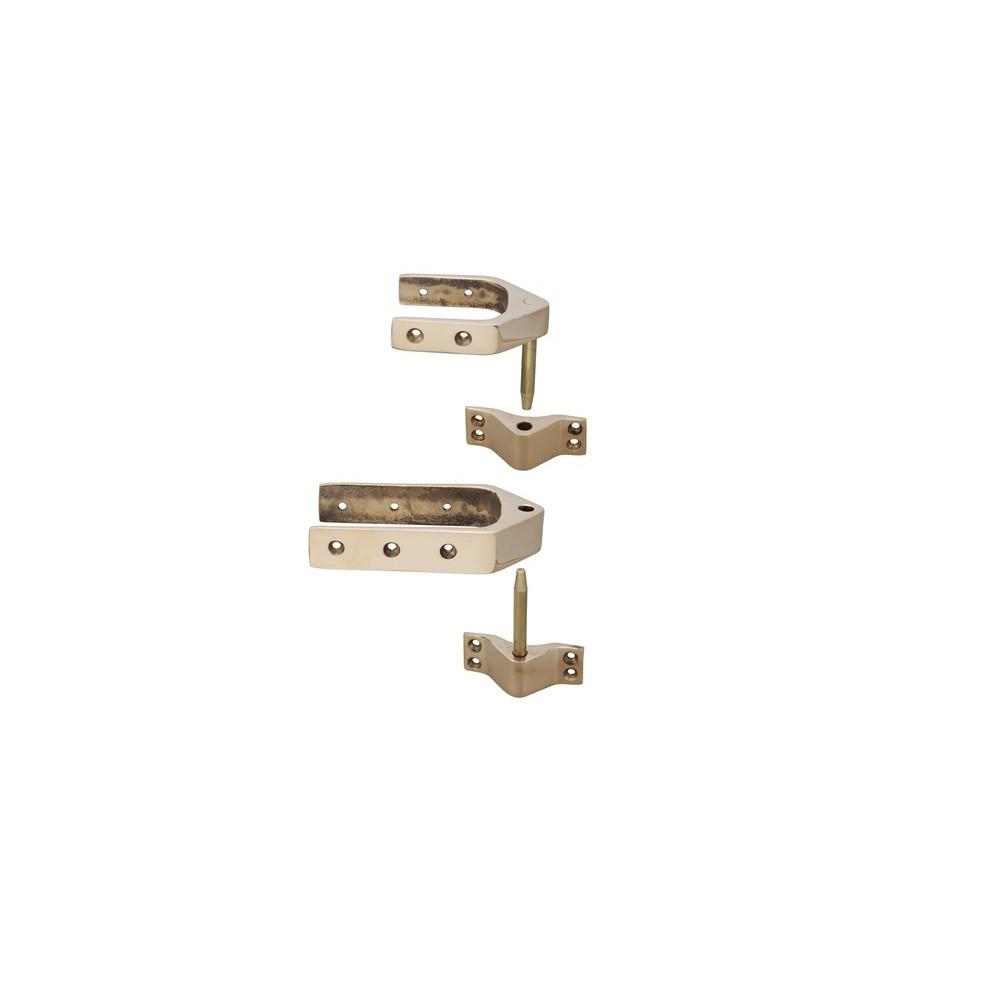 Bronze Lightweight Rudder Gear for Dinghys