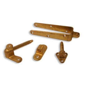 Set of Rudder Hanger (4 pieces) in Bronze