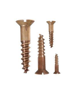 Bronze wood screw 10mm