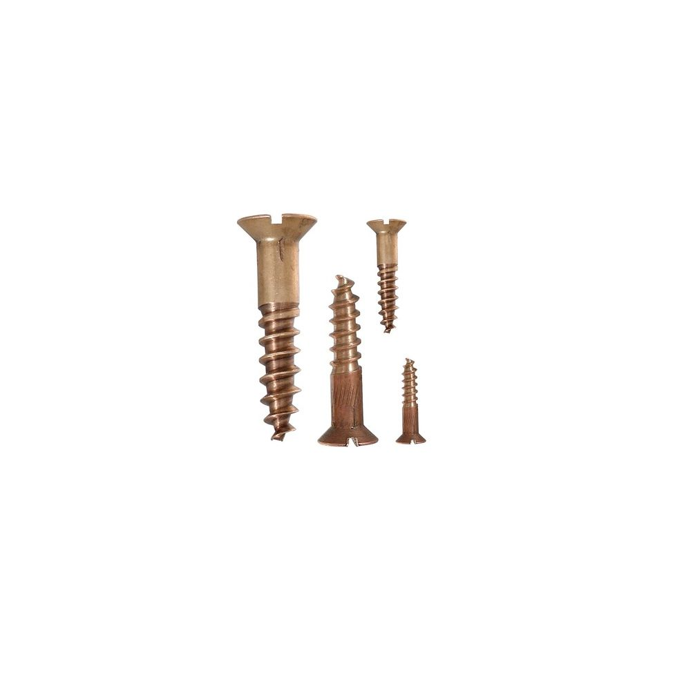 Bronze wood screw 4,5mm