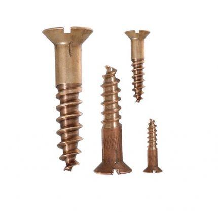 Bronze wood screw 4mm