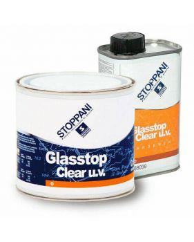 VERNIS STOPPANI GLASSOP CLEAR UV BI COMPOSANT 0.75L