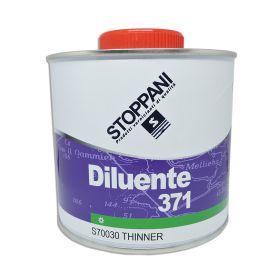 Diluant Stoppani 371 pour vernis appliqué au pinceau 1L