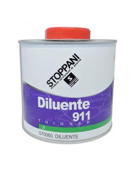 Diluant Stoppani 911 pour vernis bicomposant pistolet 1L