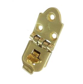 Brass staple with turning eye