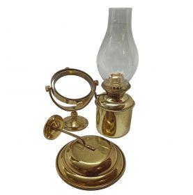 Brass ship gimbaled lamp