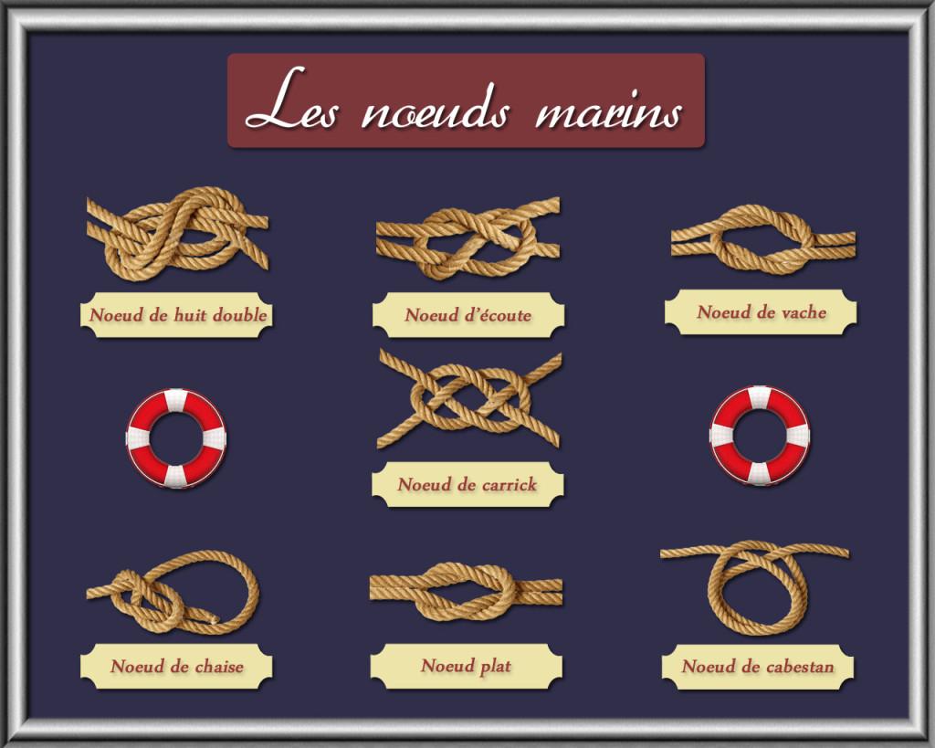 principaux noeuds marins