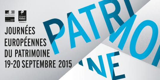 Affiche de la journée européenne du patrimoine 2015