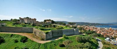 photo de la citadelle de saint tropez