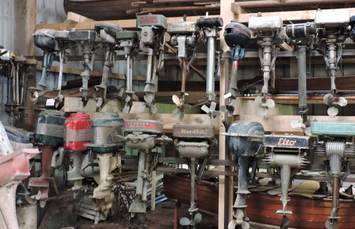 Collection de moteurs pour motonautisme