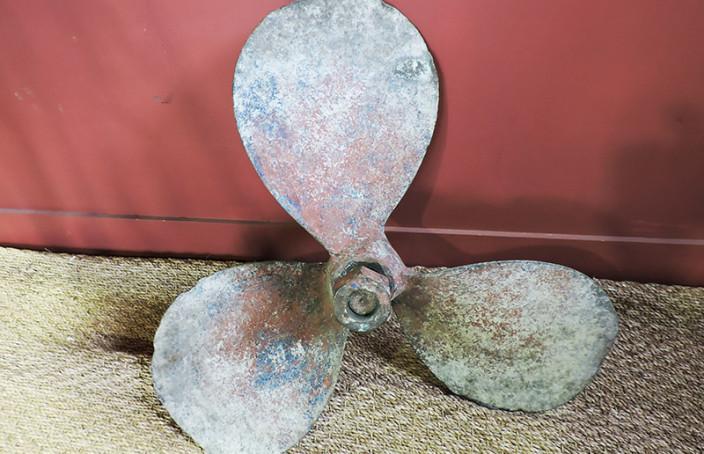 hélice bronze ancienne