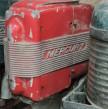 moteur hors-bord Mercury rouge