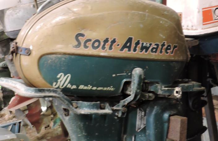Moteur hors-bord scott atwater