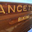 coque bateau Ancetile Bikini vernis au Coélan