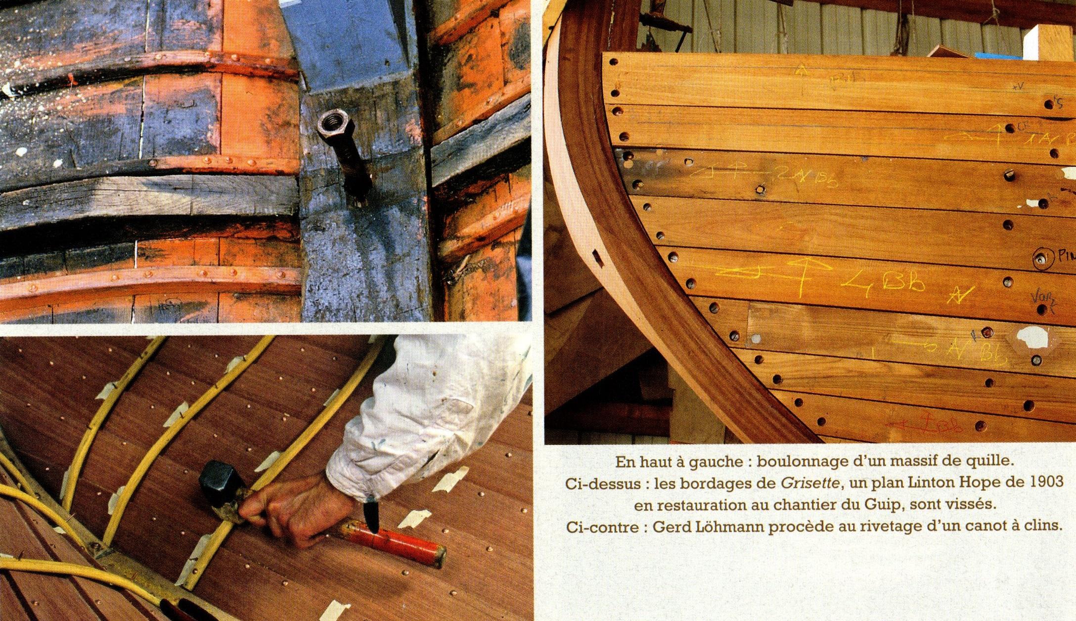 Clouer Visser Riveter Et Boulonner A L Abordage Blog Du Specialiste De L Accastillage Bateaux Bois