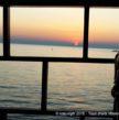 Vue de la mer depuis le poste de pilotage