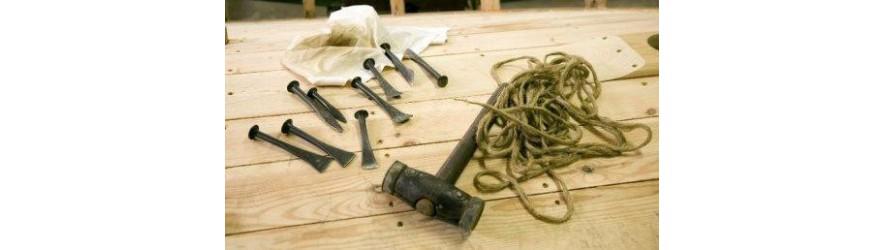 fourniture pour la restauration de bateaux bois