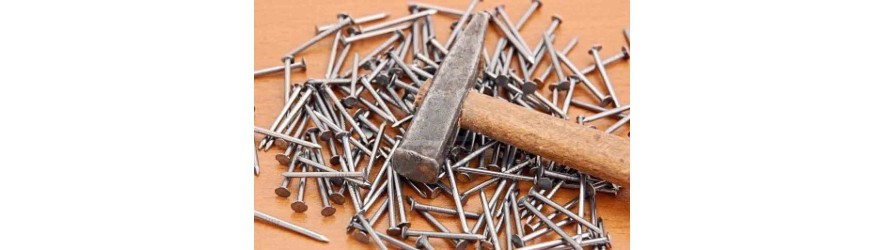 bolts nails