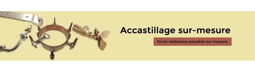 Accastillage et quincaillerie en bronze sur mesure