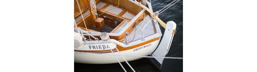 Vernis bicomposants bateaux